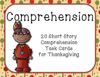 Thanksgiving Comprehension