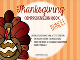 Thanksgiving Comprehension Book Bundle