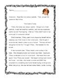 Thanksgiving Comprehension Passage