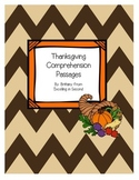 Thanksgiving Comprehension Passages