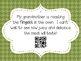 Thanksgiving Context Clue QR Task Cards
