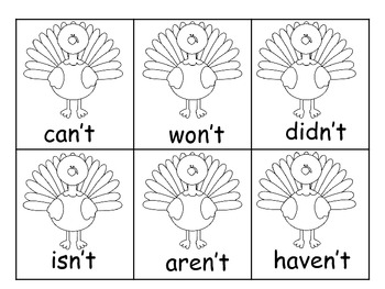 Thanksgiving Contractions
