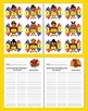 Thanksgiving Activities: Contractions Puzzles - 48 Turkey Puzzles