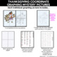 Thanksgiving Math Coordinate Graphing Pictures | Math Mystery Pictures