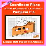 Thanksgiving Coordinate Graphing Picture: Pumpkin Pie