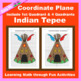 Thanksgiving Coordinate Graphing Picture: Thanksgiving Bundle 6 in 1