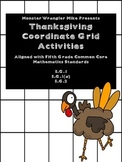 Thanksgiving Coordinate Grid/Ordered Pairs Activities