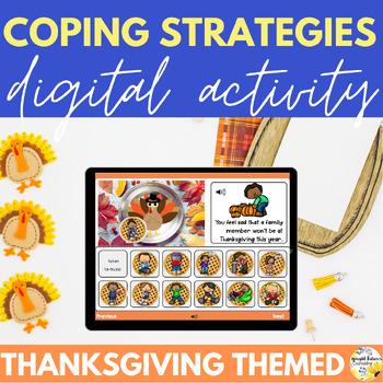 Thanksgiving Coping Strategies Digital Activity