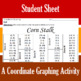 Corn Stalk - A Fall Coordinate Graphing Activity
