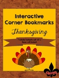 Thanksgiving Corner Book Marks Freebie