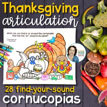 Thanksgiving Cornucopia Articulation