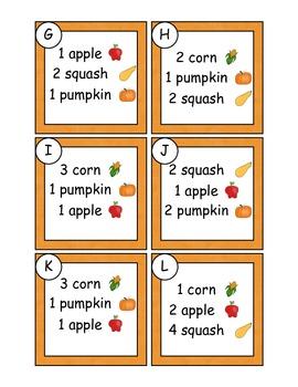 Thanksgiving Cornucopia Math