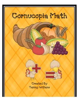 Thanksgiving Cornucopia Math Fun!