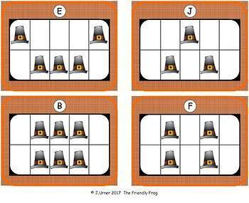 Thanksgiving Count, Add & Subtract Bundle with 10 & 20 Frames {Subitizing}
