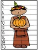 """Thanksgiving """"Count By"""" Puzzles (1's, 2's, 5's and 10's)"""