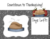 Thanksgiving Count Down