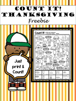 Thanksgiving Count It!  (Freebie)