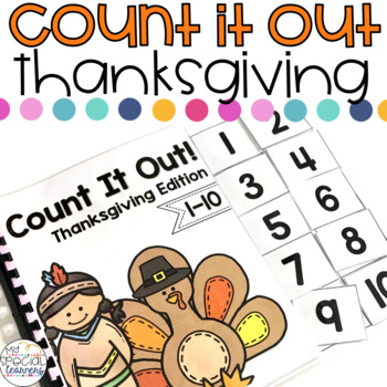 Thanksgiving Count It Out Adapted Book