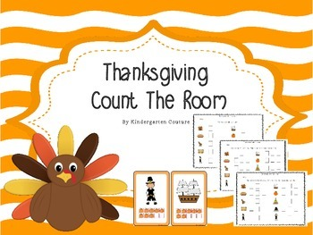 Thanksgiving Count The Room -Ten Frames