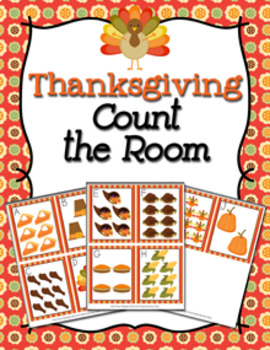 Thanksgiving Count the Room Activity