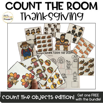 Thanksgiving Count the Room! Counting Objects