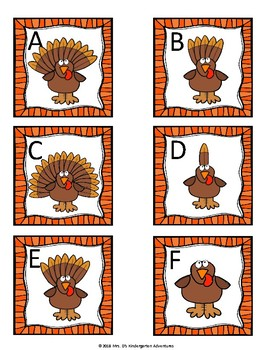 Thanksgiving  Count the Room - Differentiated