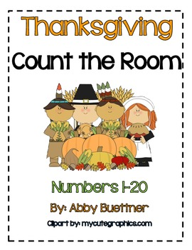 Thanksgiving Count the Room Math Center