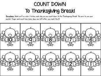 Thanksgiving Countdown