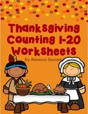 Thanksgiving Counting 1-20