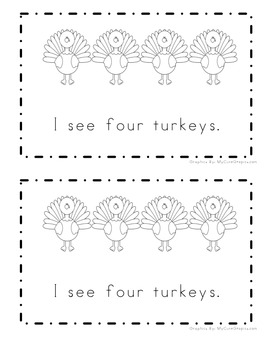 Thanksgiving Counting Book