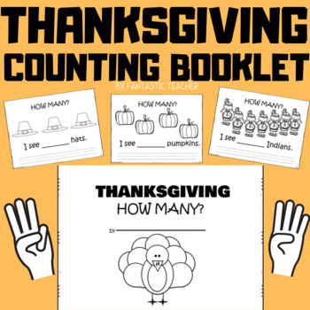 Thanksgiving Counting Book Freebie