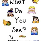 """Thanksgiving Counting Book: Sight word """"see"""" & #s (Pre-K,"""