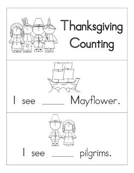 Thanksgiving Counting Emergent Reader