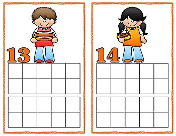 Thanksgiving Counting Frames