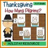 Thanksgiving Counting Games: How Many Pilgrims on the Mayflower?