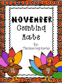 Thanksgiving Counting Mat