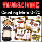 Thanksgiving Play Dough Counting Mats 0-10