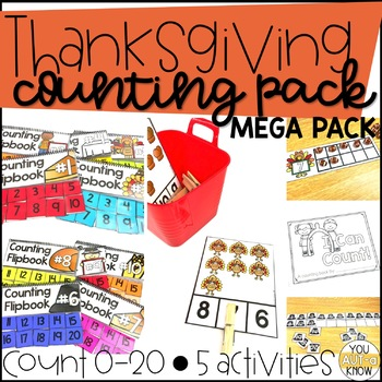Thanksgiving Time Counting MEGA Pack