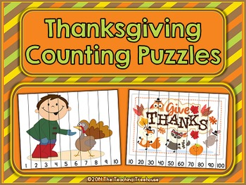 Thanksgiving Counting Puzzles