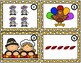 Thanksgiving Counting Task Cards for Kindergarten and 1st