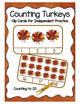 Thanksgiving - Counting Turkeys