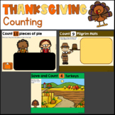 Thanksgiving Counting for Google Slides