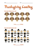 Thanksgiving Counting from 10-20