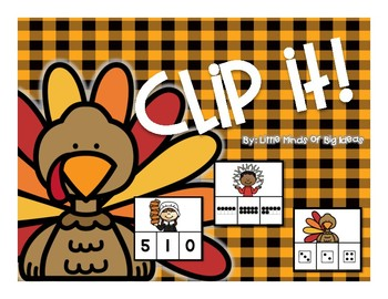 Number Sense: Thanksgiving Counting to 10
