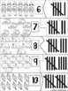Thanksgiving: Counting with Tally Marks- Number Activities Set-b&w included