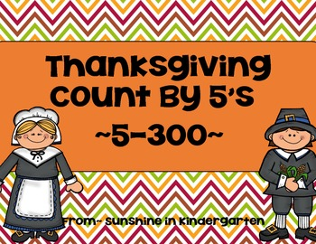 Thanksgiving Counting by 5's