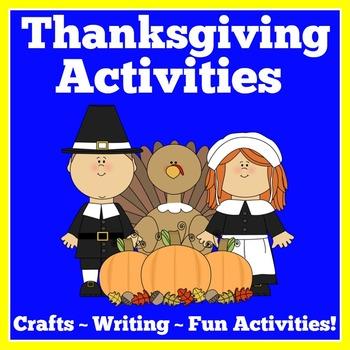 Thanksgiving Craft Activities