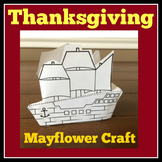 Mayflower | Craft Activity | Pilgrims | 1st 2nd 3rd Grade