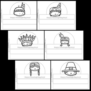 Thanksgiving Craftivities (Thanksgiving Crowns)