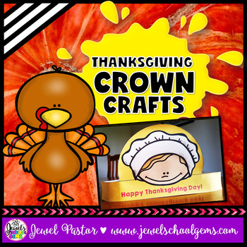Thanksgiving Craftivities (Natives and Pilgrims Crowns)